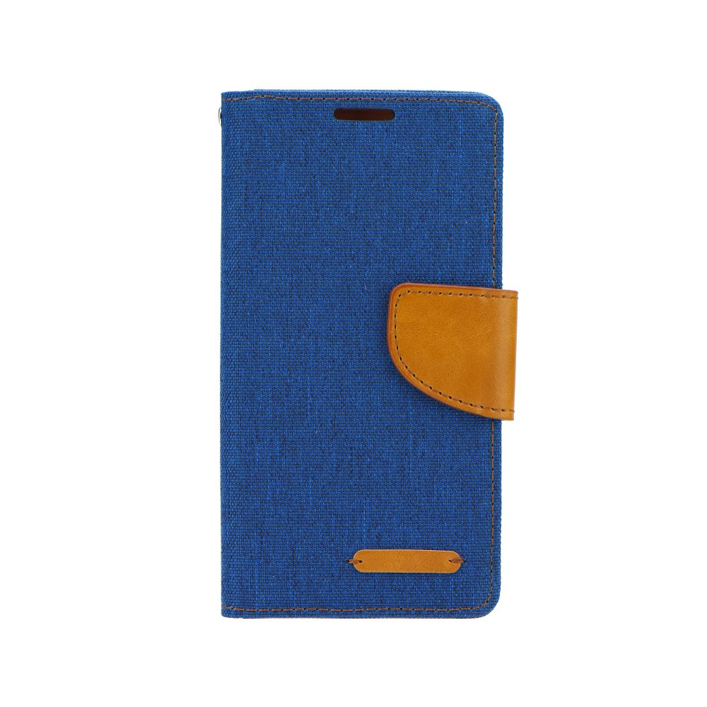 Puzdro Canvas Book Sony Xperia M4 Aqua sky blue