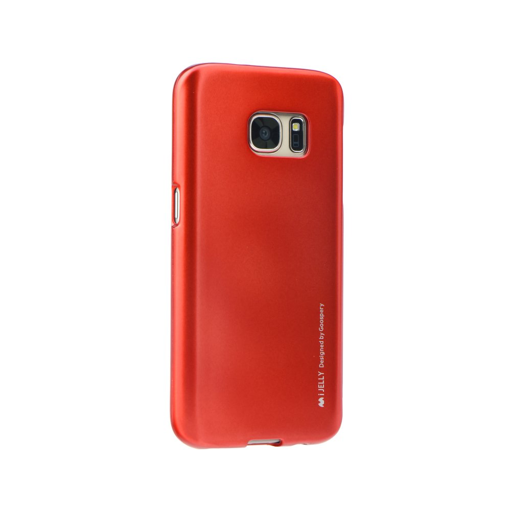 Puzdro i-Jelly Samsung Galaxy S7 Edge red