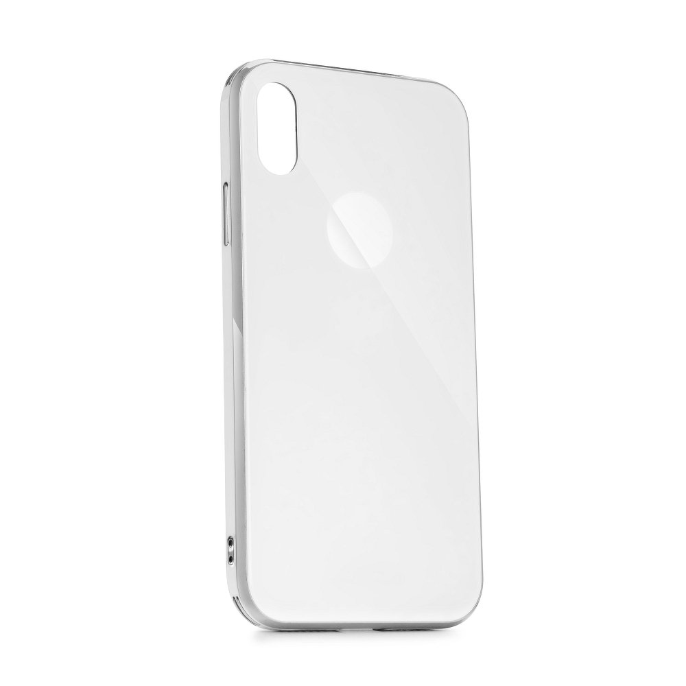 Puzdro Forcell GLASS Premium Samsung Galaxy S10e white