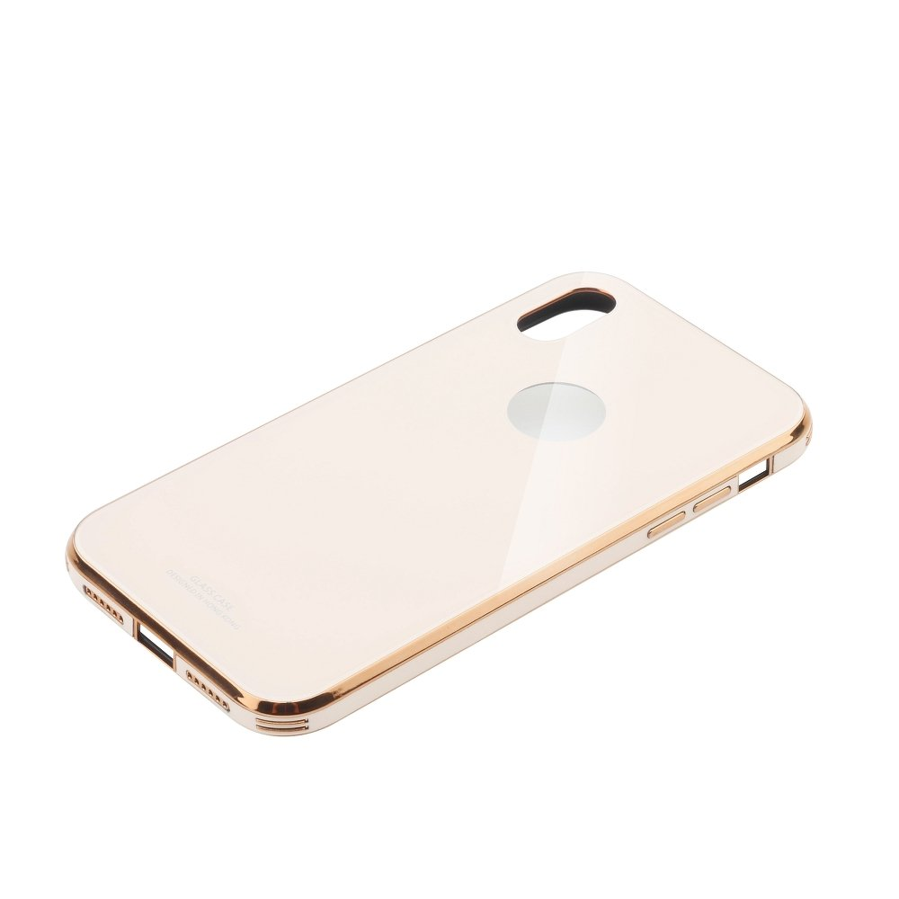 Puzdro Forcell GLASS Premium Samsung Galaxy S10e pink gold