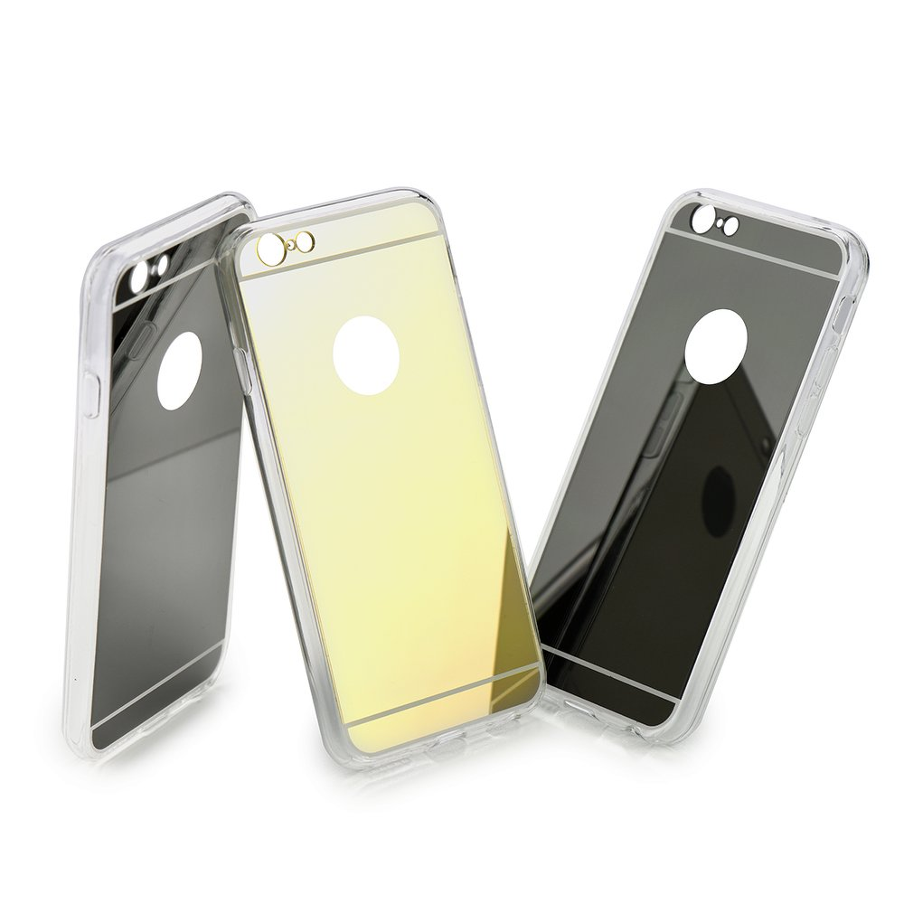 Puzdro Forcell Mirror pre Samsung Galaxy Note 4 silver
