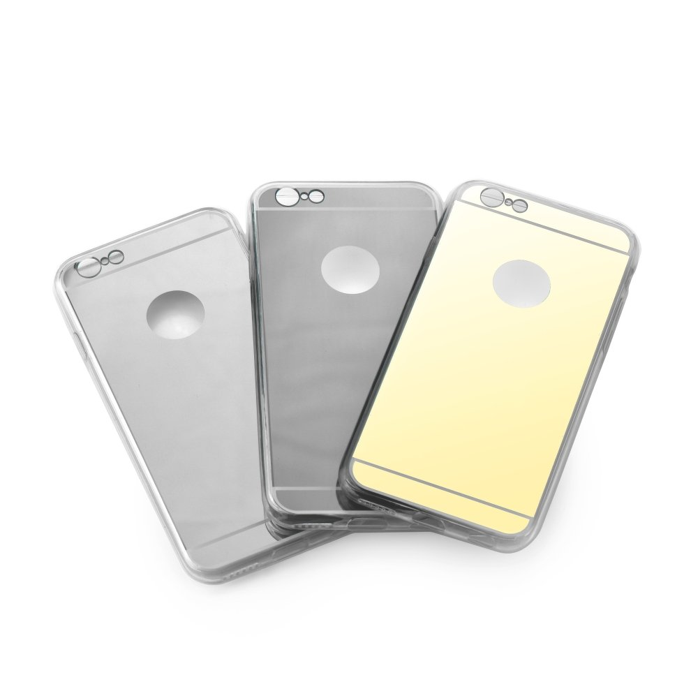 Puzdro Forcell Mirror pre Samsung Galaxy S6 Edge Plus gold