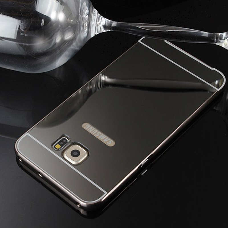 Aluminium Bumper Samsung Galaxy S6 Edge Plus black
