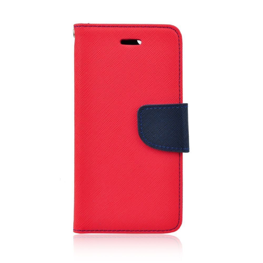 Puzdro Fancy Book Microsoft Lumia 550 red