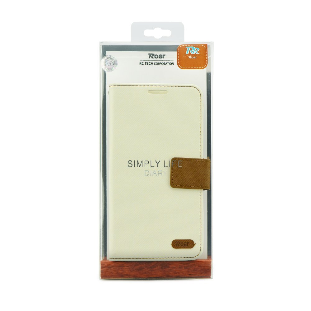 Puzdro Roar Simply Life pre Apple Iphone 5/5s/SE white