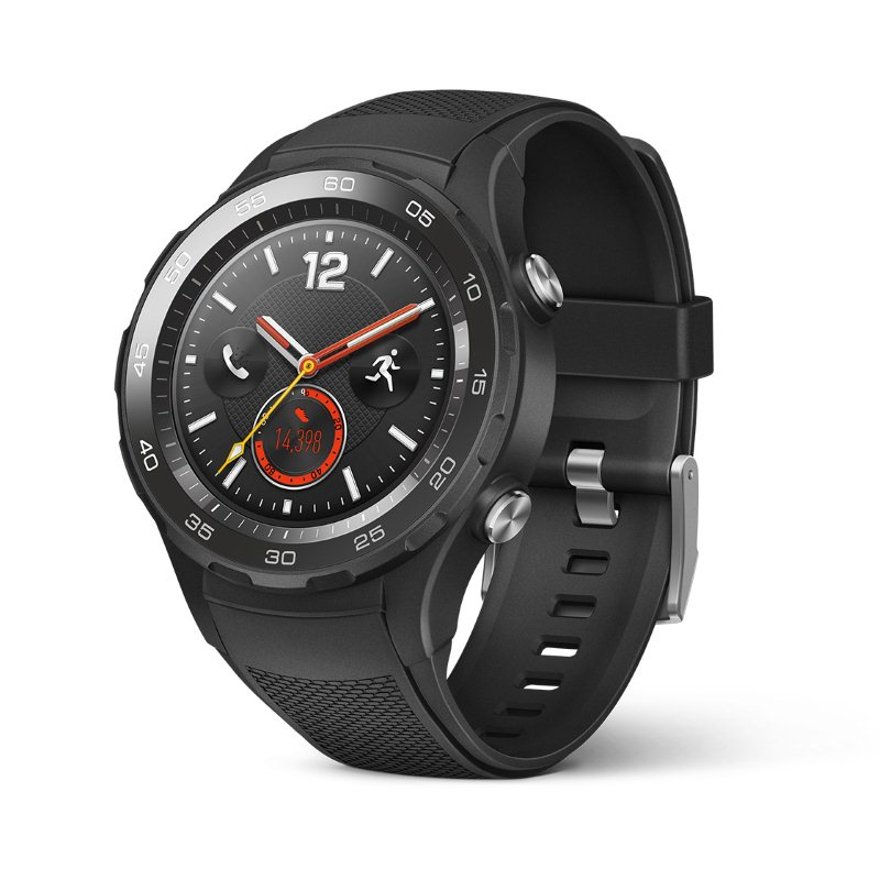 Huawei Watch W2 Sport black