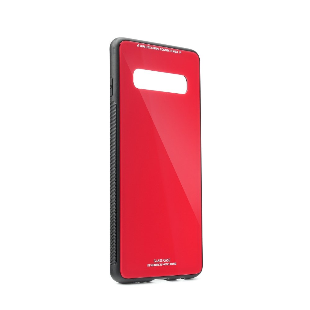 Puzdro Forcell Glass Samsung Galaxy S10 red