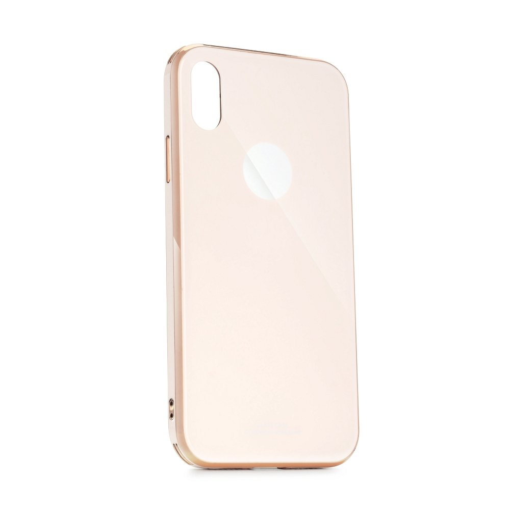 Puzdro Forcell GLASS Premium Samsung Galaxy A50 pink gold