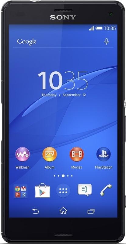 Sony Xperia Z3 Compact black (+ DARčEK OCHRANNá FóLIA)