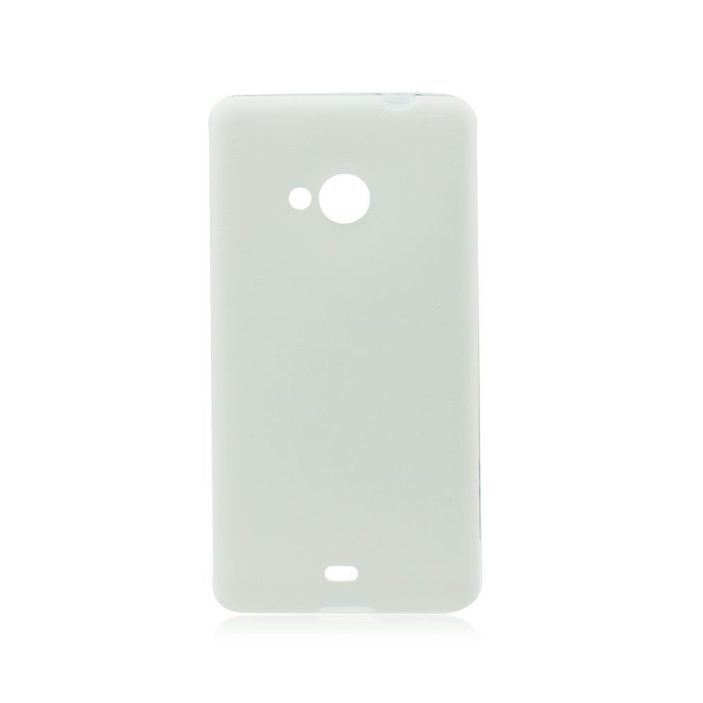 Puzdro Jelly Case koža Samsung Galaxy A5 white  (2015)
