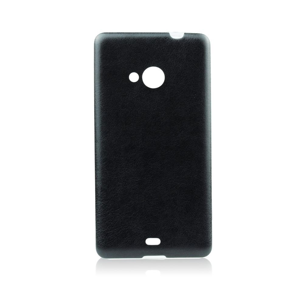 Puzdro Jelly Case koža Sony Xperia Z5 black