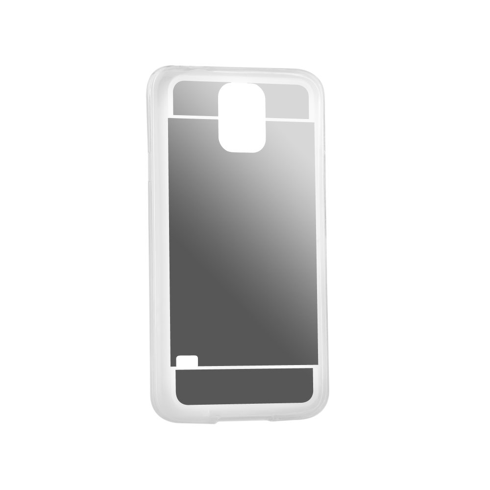 Puzdro Forcell Mirror pre Samsung Galaxy S5/S5 neo silver