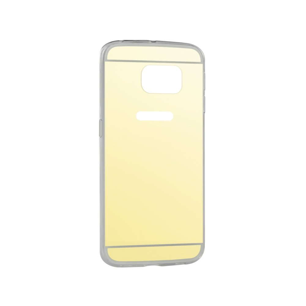 Puzdro Forcell Mirror pre Samsung Galaxy S6 gold