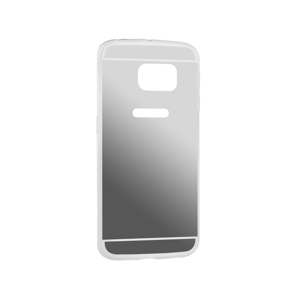 Puzdro Forcell Mirror pre Samsung Galaxy S6 Edge Plus silver