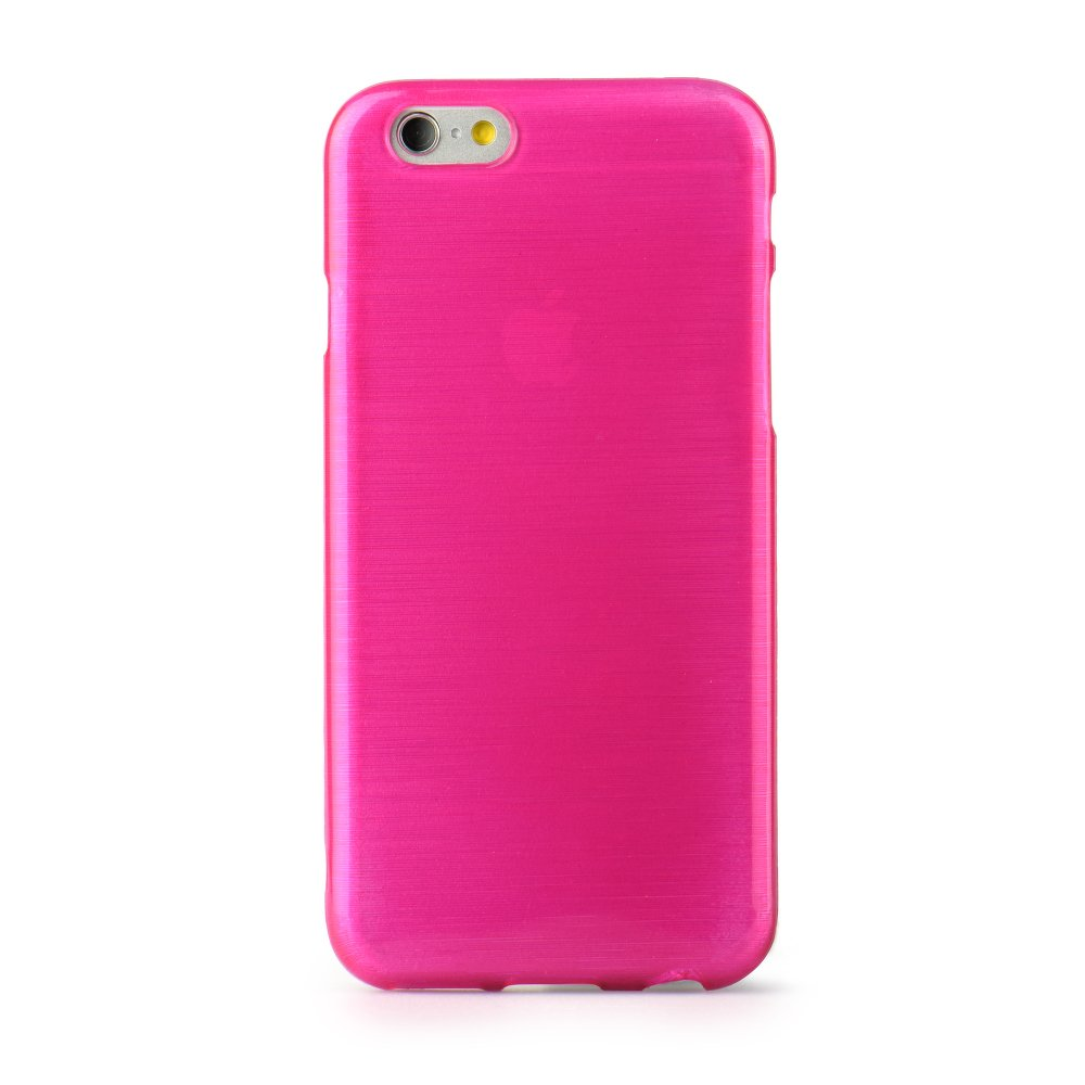 Puzdro Jelly Case Brush pre Huawei P8 Lite pink