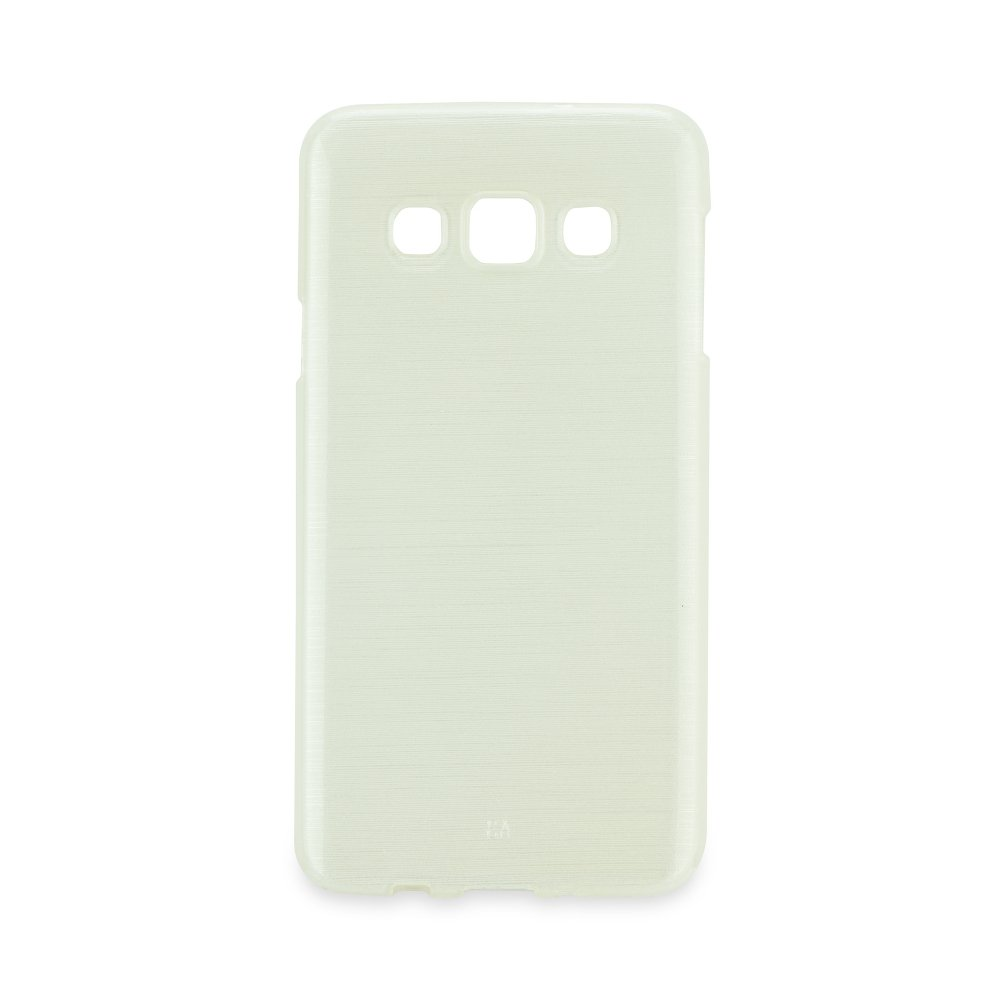 Puzdro Jelly Case Brush Samsung Galaxy A510F (2016) white