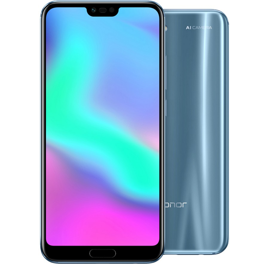 Honor 10 Dual Sim 4GB RAM 64GB Glacier grey