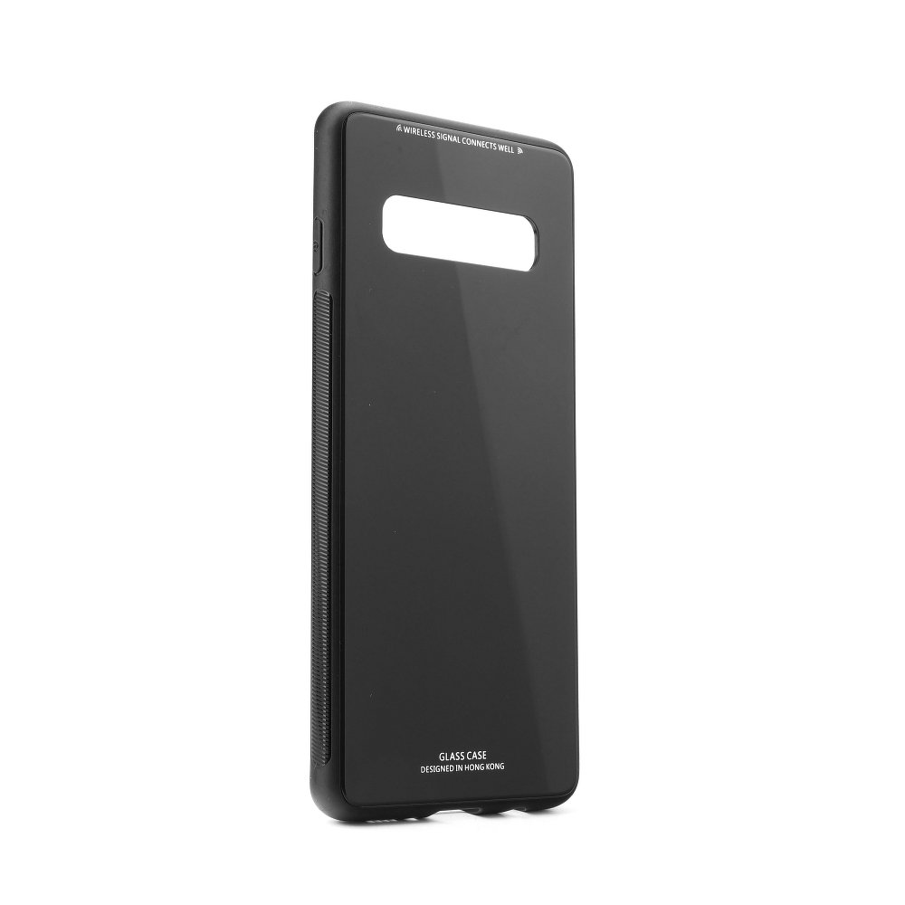 Puzdro Forcell Glass Samsung Galaxy S10 black