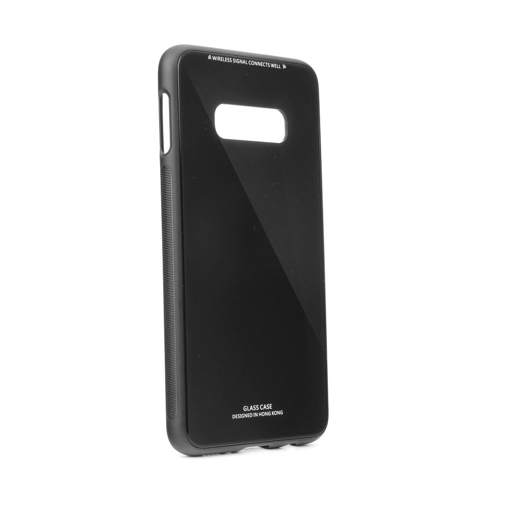 Puzdro Forcell Glass Samsung Galaxy S10e black