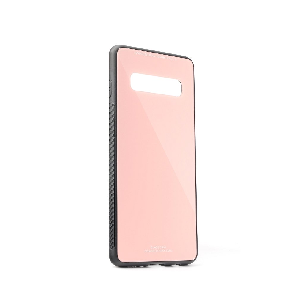 Puzdro Forcell Glass Samsung Galaxy S10 pink