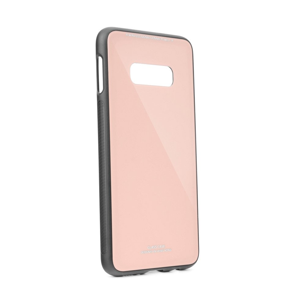 Puzdro Forcell Glass Samsung Galaxy S10e pink