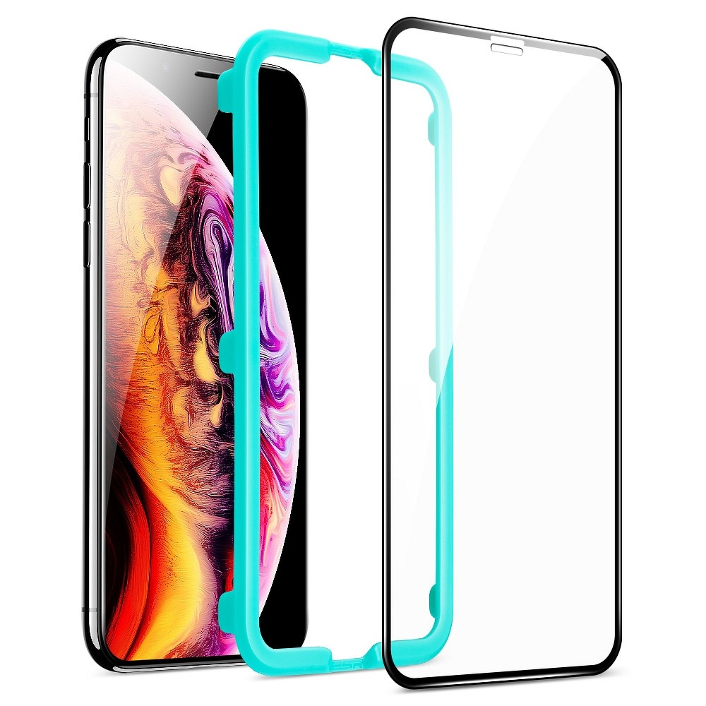 TVRDENÉ SKLO ESR SCREEN SHIELD 3D IPHONE 11/Iphone XR black