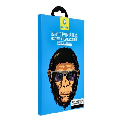 "Tvrdené sklo 5D Mr. Monkey Glass - Iphone 12 MINI (5,4"") black (Strong HD)"