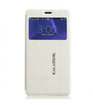 Puzdro pre Sony Xperia Z3 Compact - Kalaideng Iceland II white