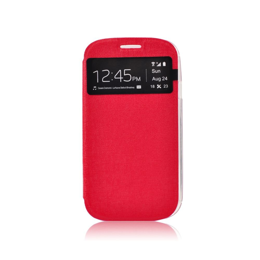 Puzdro S-View Sony Xperia Z5 Compact red