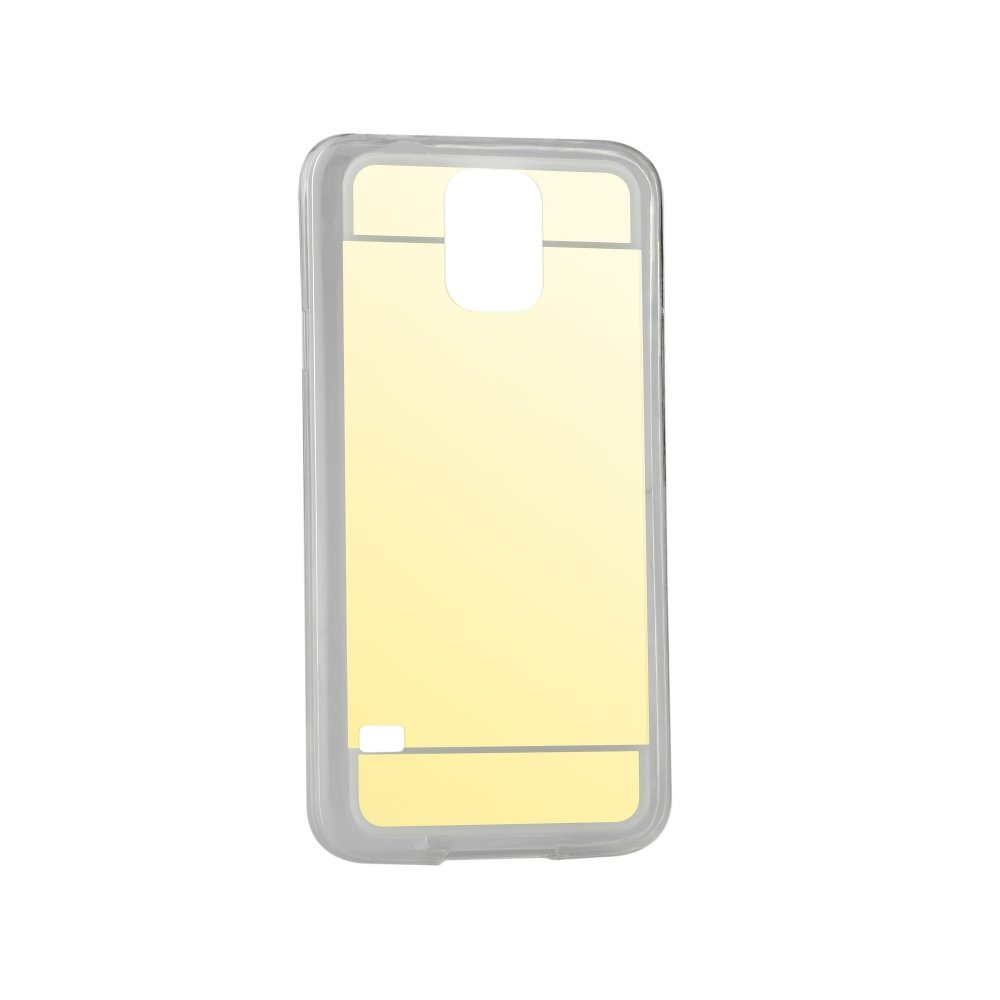 Puzdro Forcell Mirror pre Samsung Galaxy S5/S5 neo gold