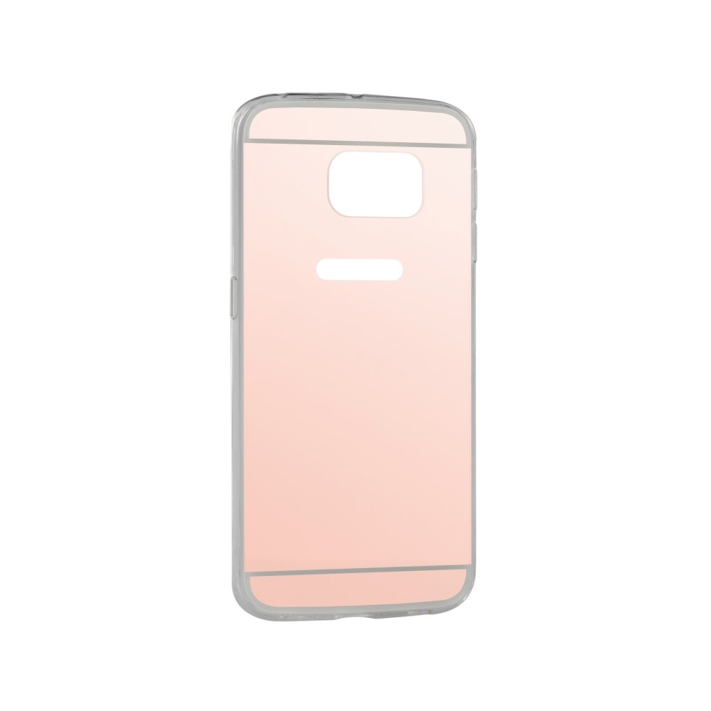 Puzdro Forcell Mirror pre Samsung Galaxy S6 Edge pink-gold