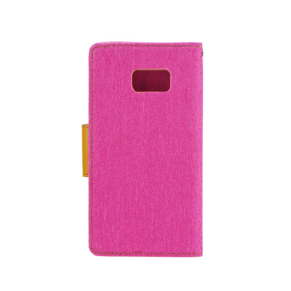 Puzdro Canvas Book Huawei P9 Lite pink
