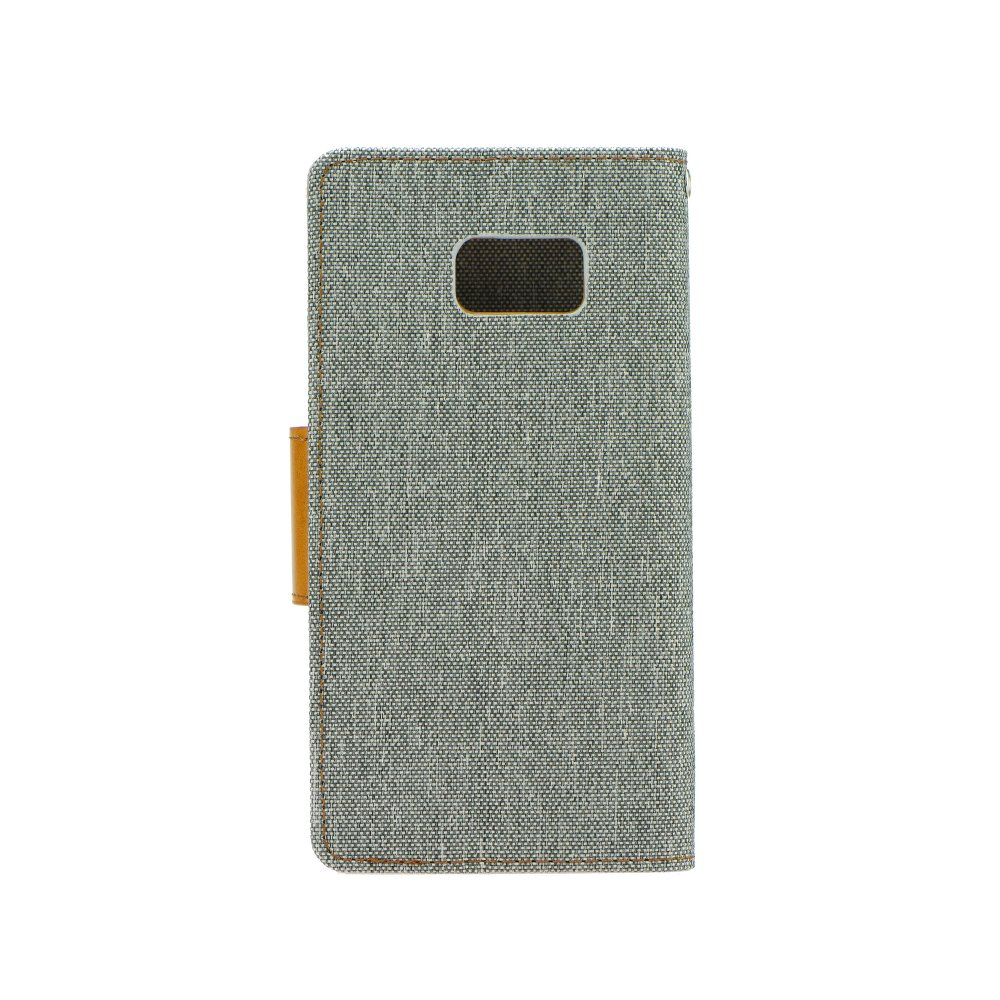 Puzdro Canvas Book Huawei P9 Lite grey