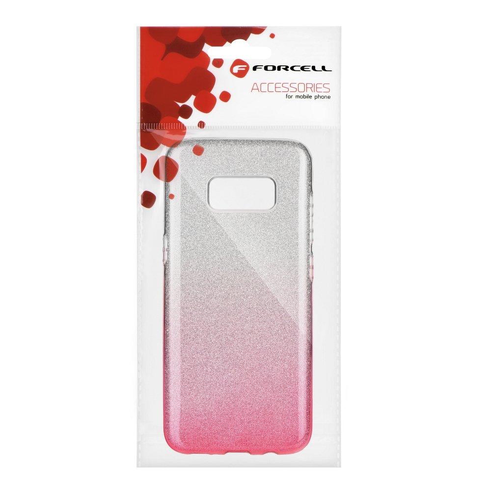 Puzdro SHINING Huawei P10 LITE clear pink  71dd5d007da