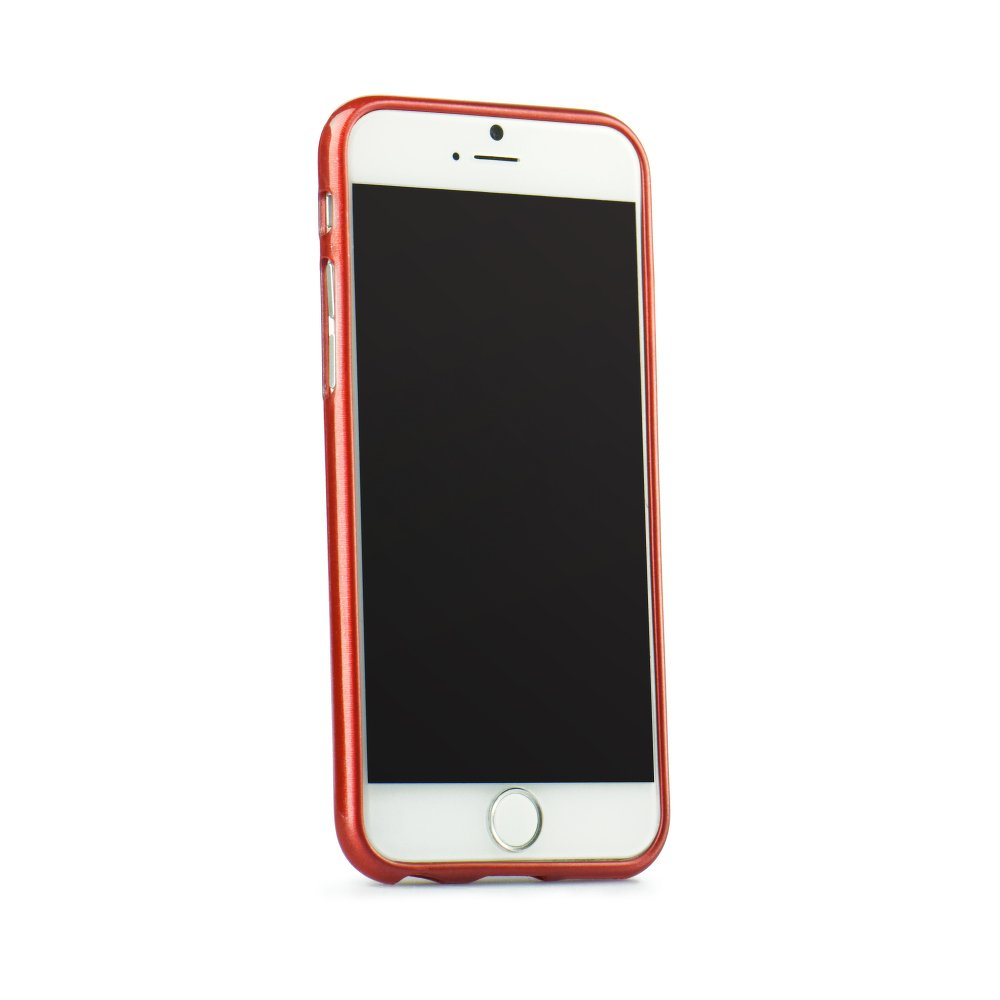 Puzdro Jelly Case Brush pre Huawei P8 Lite red