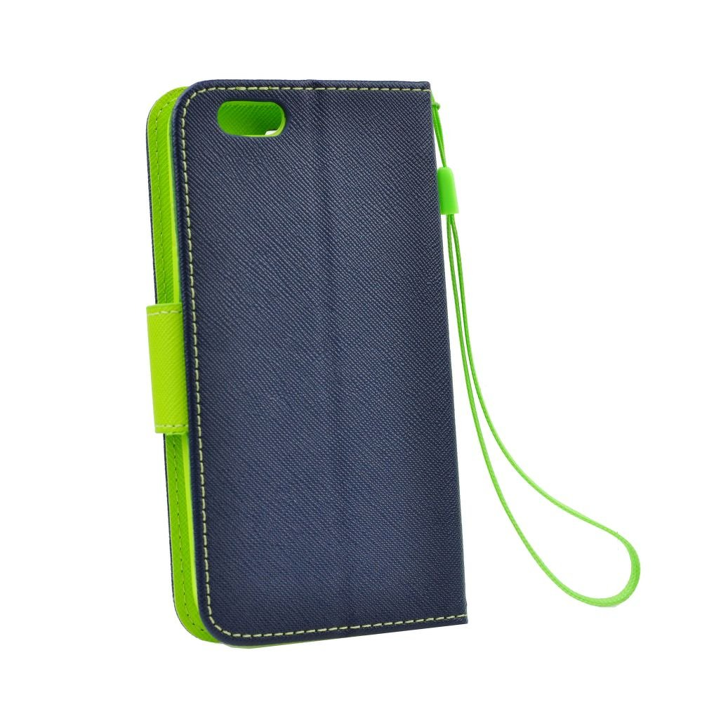 Puzdro Fancy Book LG G4 navy-lime